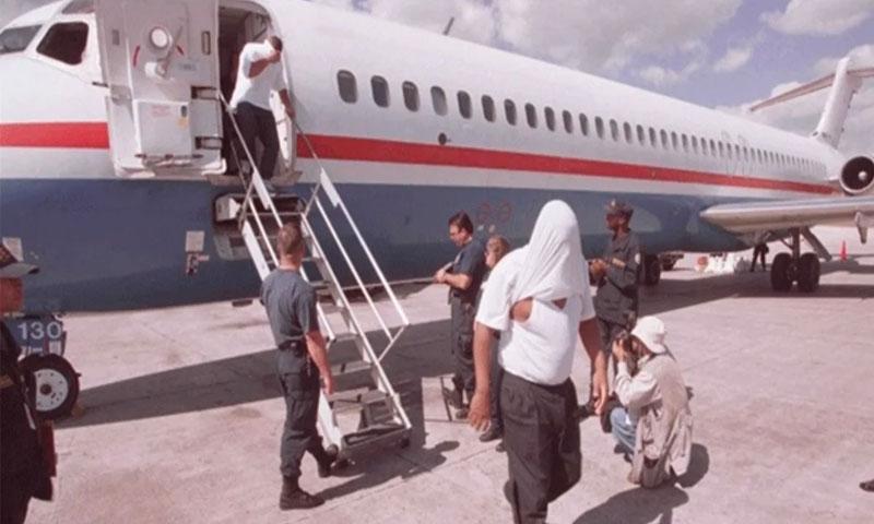 Resultado de imagen para Repatrian hoy otro grupo de 65 ex convictos cumplieron condenas en EU